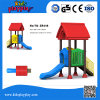 2017 Newest Kids Plastic Slides Outdoor Playground Sets for Sale