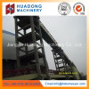 High Angle Downward Belt Conveyor with Rubber Belt