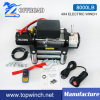 8000lb-1 4X4 Electric Recovery Winch 12V/24V