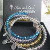 Fashion Crystal Bangle Charm Bracelet Jewelry