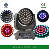 LED 36*15W RGBWA 5 in 1 Zoom Wash Moving Head