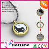 Fashion Round Shap Energy Pendant for Gold Plated with Magnetic