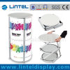 Aluminum Counter Trade Show Counter Display (LT-07A, silver)