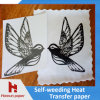 No Cut Self Weeding Heat Transfer Paper for 100% Cotton Printing