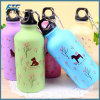 Cartoon Style Sports Water Bottle Aluminum Travel Bottle
