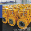 Segment&V Type Stainless Steel Ss304&Ss316 Flanged RF Ball Valve