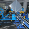1500mm Diameter Galvanized Steel Spiral Tube Forming Machine Mitsubishi PLC