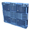 1200*1000 Wholesale Warehouse Stacking Double Faced Plastic Pallet