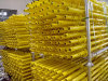 Yellow Painted Multidirectional Scaffolding Standard for Construction Materials