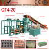 with German Technology Qt4-20 Concrete Block Making Machine, Cabro Interlocking Paving Bricks Machine