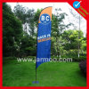 Custom Outdoor Printing Knife Flag with 3.4m Pole