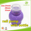 Dosage 0.6ml 24 410 Plastic Remover Nail Pump for Bottle