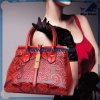 Bw1-077 Ladies Wallet Hand Bag Women′s PU/Leather 3PCS Handbag Set