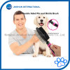 Double Sided Pins and Bristle Brush for Dogs and Cats with Long or Short Hair
