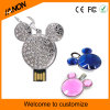 Cartoon Crystal USB Flash Drive Jewelry USB Stick