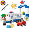 Baby Police Station Plastic Blocks Toy for Children