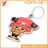 Custom 3D Cartoon Design PVC Keychain for Promotional Gift