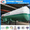 3 Axles 40.5cbm LPG Cooking Gas Tank Semi Trailers 20tons for Low Price