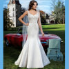2016 China Smooth Satin Highly Flared Skirt Mermaid Wedding Dress