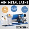 Mini High-Precision DIY Shop Benchtop Variable Speed Milling Machine Digital Display Metal Lathe