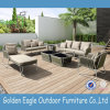 Patio Aluminium Powder Coat L Shape Sofa Set P-S0254