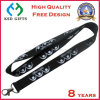 Eco Friendly Polyester Lanyard Strap with Printed Customer Logo