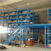 Storage Pallet Rack Supported Steel Mezzanine Rack