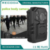 1296p Full HD Recoding Police Body Worn Camera Wide Degree Night Vision IP66 Waterproof