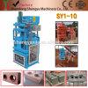 Shengya Brand Full Automatic Cement Interlocking Brick Making Machine Sy1-10 High Yield Clay Block Making Machine