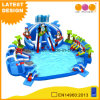 Floating Inflatable Water Park Ocean Inflatable Swimming Pool with Slide (AQ01774)