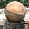 Marble Stone Ball Water Fountain for Outdoor Garden
