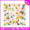 Wholesale Cheap Preschool Wooden Kids Maze Game for Education W11h023