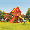 Outdoor Wooden Children Playground