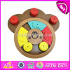 Wholesale Cheap Wooden Cat Puzzle Feeder Top Fashion Pet Iq Training Wooden Cat Puzzle Feeder W06f036