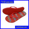 Ladies PE Footwear with Lovely Flower Print (15I079)