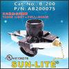 E26 Three Light + Pull-Chain Switch Phenolic Lampholder, B-200