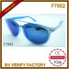 The Luxurious Jewelry Blue Sunglasses (F7862)