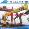 Electrical Hydraulic Telescopic Boom Marine Crane 3t@40m