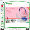 Metal Wire Basket for Cosmetic Store