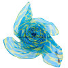 Lady Fashion Printed Scarf with Bright Color for Lady