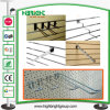 Chrome Plated Pegboard Hook with Price Tag