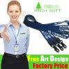 OEM Factory Cheap Full Color Printed Fabric Woven Custom Lanyard