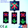 Easy Installed Red Cross & Green Arrow LED Flashing Traffic Signal Control Light