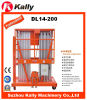 14m Double Mast Vertical Aluminum Alloy Boom Lift (DL14-200)