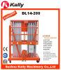 14m Double Mast Vertical Aluminum Alloy Boom Lift (DL14-200)