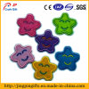 Custom 2D or 3D Garment Embroidered Patches with Flower Shape