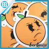 Angry Face Bag Sticker Yellow Fruit Cartoon Sticker