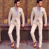 Men′s Leisure Classic Style Suit High Quality Wool Suit
