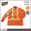 Hi Vis Reflective Windproof Winter Coats Flame Retardant Jacket