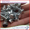 Fastener Carbon Steel Hex Head Bolts with Zinc Plated